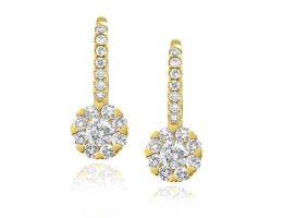 Bloom Diamond Earrings by Gerard McCabe
